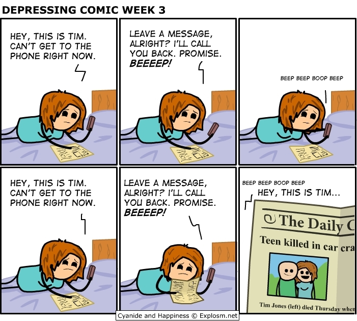Cyanide and Happiness Depressing Comic Week 3