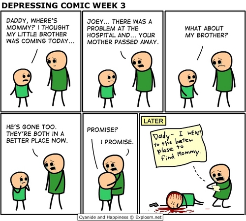 Cyanide and Happiness images Depressing Comic Week 3 wallpaper and background photos
