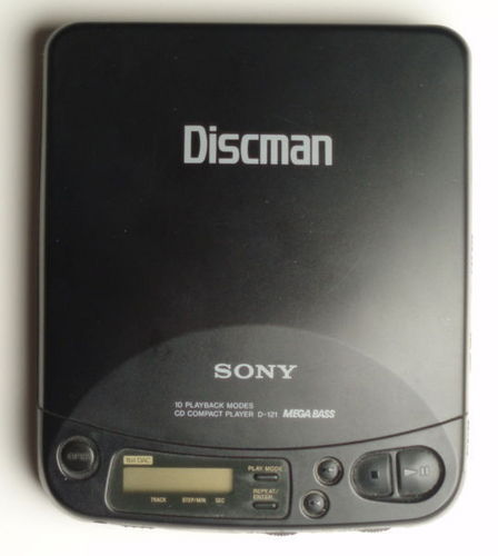 The 90s wallpaper entitled Discman
