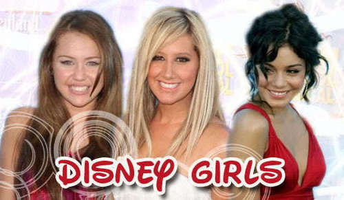 Disney Channel Girls wallpaper with a portrait entitled Disney Girls