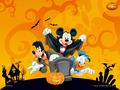 disney Dia das bruxas wallpaper