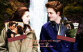robert-pattinson - Edward & Bella wallpaper