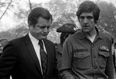 Edward Kennedy & John Kerry