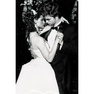 edward and bella wedding day twilight series photo