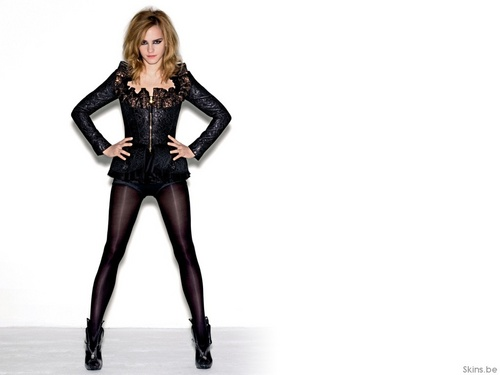 emma watson wallpaper containing tights, a hip boot, and a legging titled Emma Watson