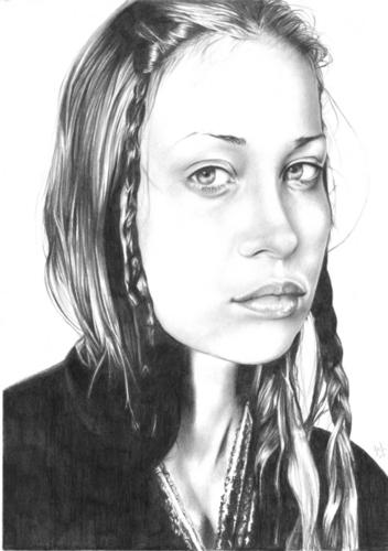 Fiona manzana, apple Portrait
