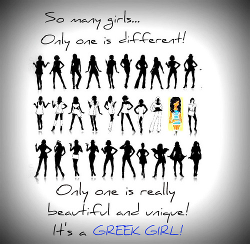 GREEK GIRL!