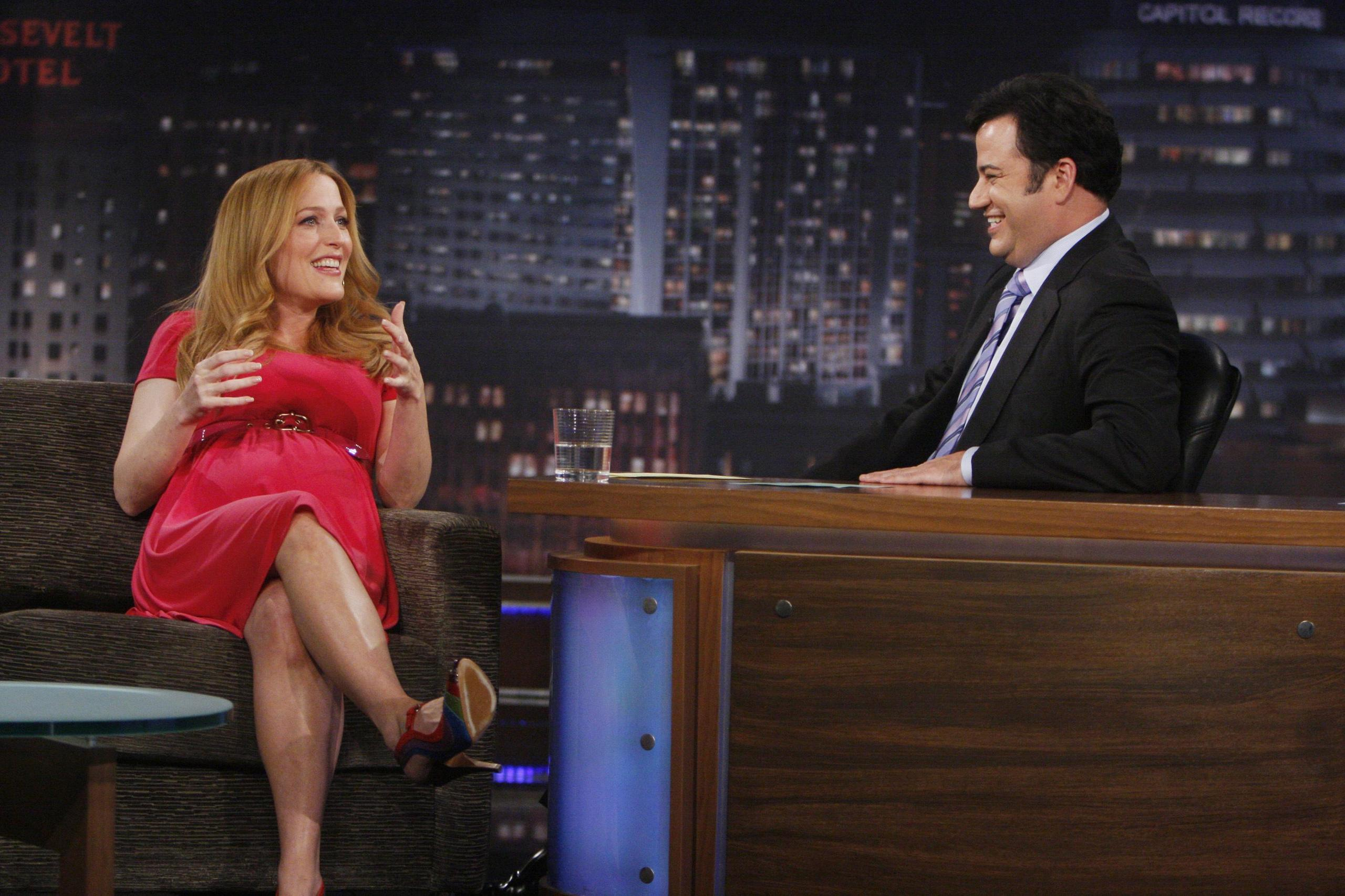 Gillian on Jimmy Kimmel