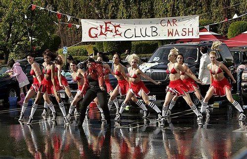 Glee-Behind The Scenes
