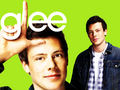 glee - Finn wallpaper