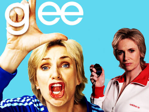 Glee wallpaper possibly with a portrait called Sue
