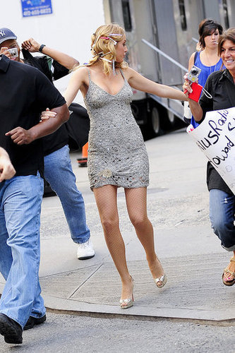 Gossip Girl On Set