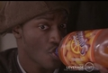 Hardison and his orange soda