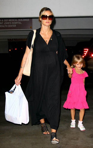 Heidi with Leni go to the doctor in Santa Monica