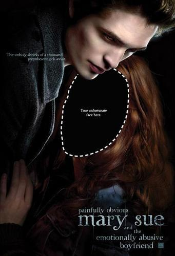 Critical Analysis of Twilight achtergrond titled Honest Twilight poster