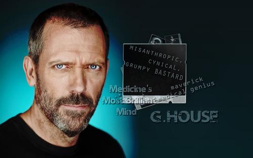 House M.D. fondo de pantalla