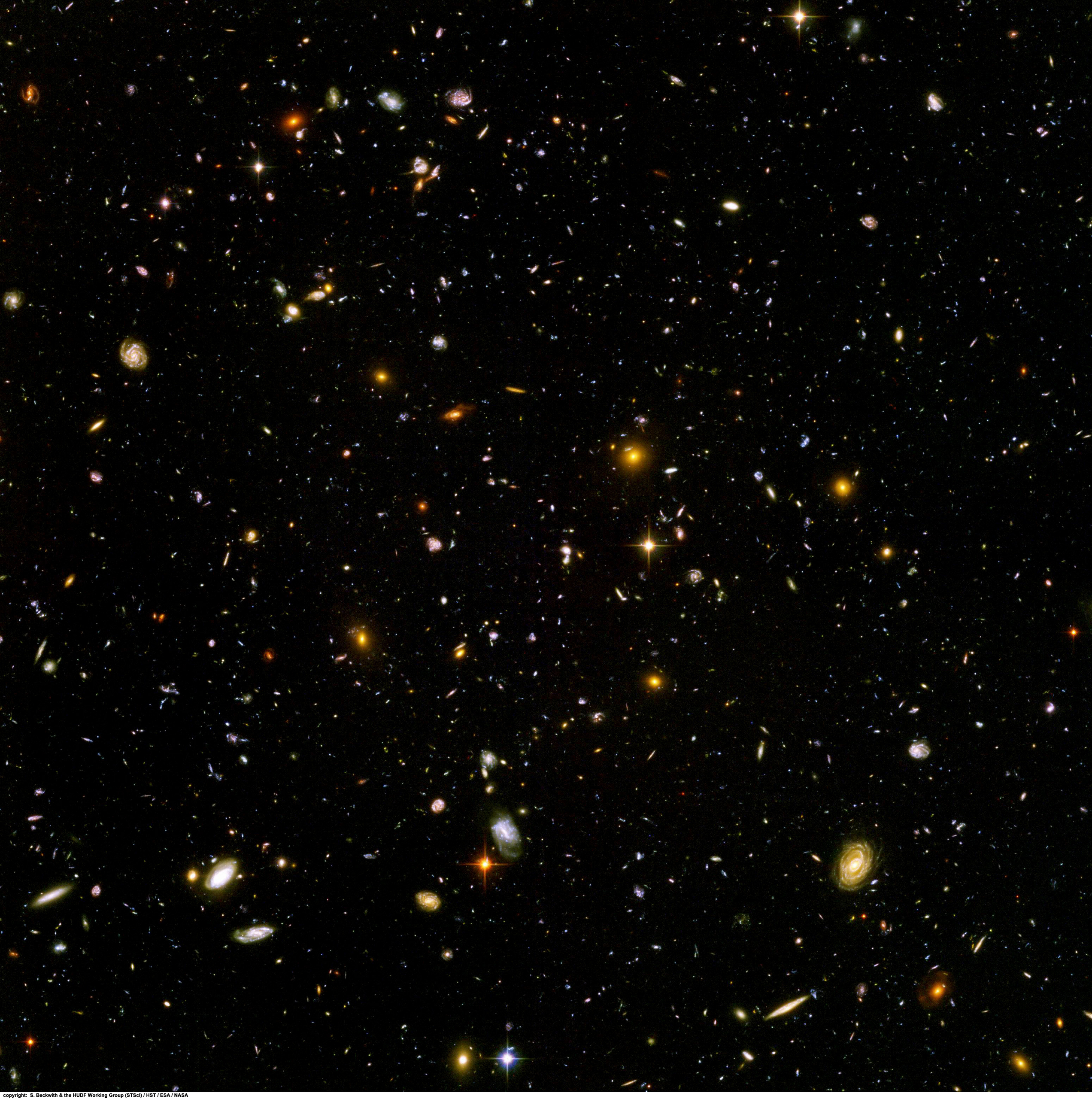 Hubble Ultra Deep Field - Space Photo (7992397) - Fanpop