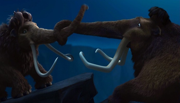 ice age 2 the meltdown ending a relationship