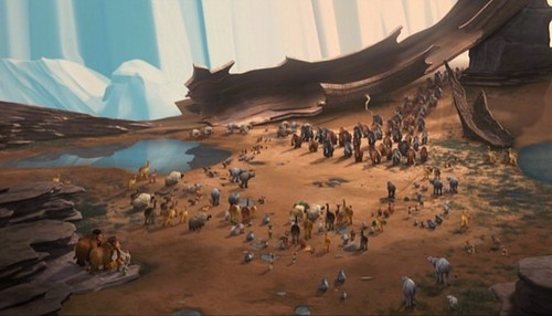 Ice Age wallpaper containing a triceratops called Ice Age 2: The Meltdown