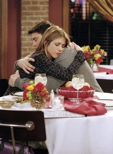 Joey and Rachel achtergrond with a avondeten, diner table, a restaurant, and a brasserie titled J / R <3