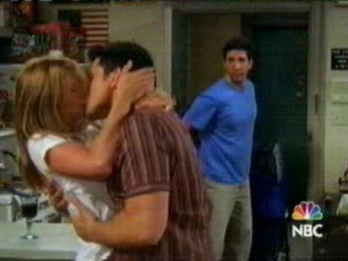 Joey and Rachel achtergrond possibly containing a diner called J/R <3