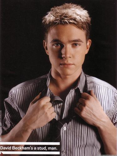Jesse McCartney wallpaper probably containing a business suit titled JMac