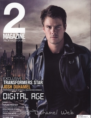 Josh on the July cover of 2 Magazine from Thailand.