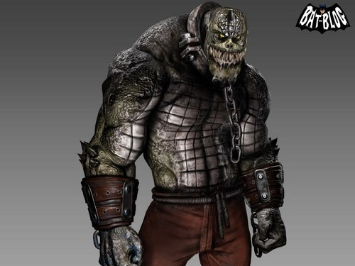 Batman wallpaper containing an armor plate and a breastplate entitled Killer Croc