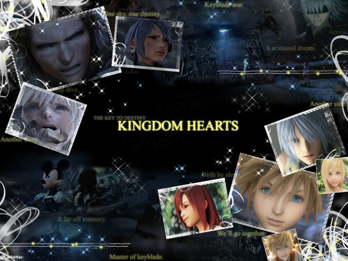 Kingdom Hearts 바탕화면