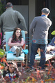 Kristen On Set - twilight-series photo