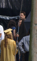 Kristen Stewart & Billy Burke At Forks High Graduation