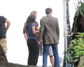 Kristen as Bella in the Eclipse set - twilight-series photo
