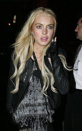 Lindsay in West Hollywood