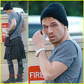 Look At Cam Gigandet [A.K.A James] in a skirt! lol