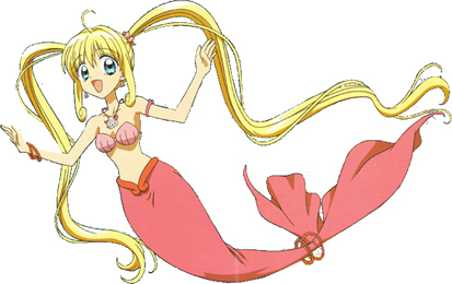 Mermaid Melody Hintergrund titled Luchia
