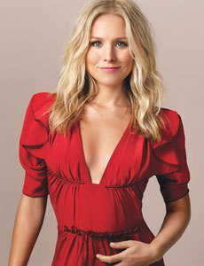 Kristen Bell wallpaper possibly with a cocktail dress and a dinner dress called Lucky Photoshoot
