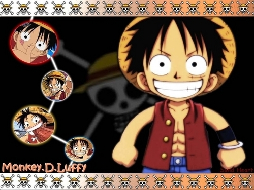 Monkey D. Luffy fond d'écran called Luffy