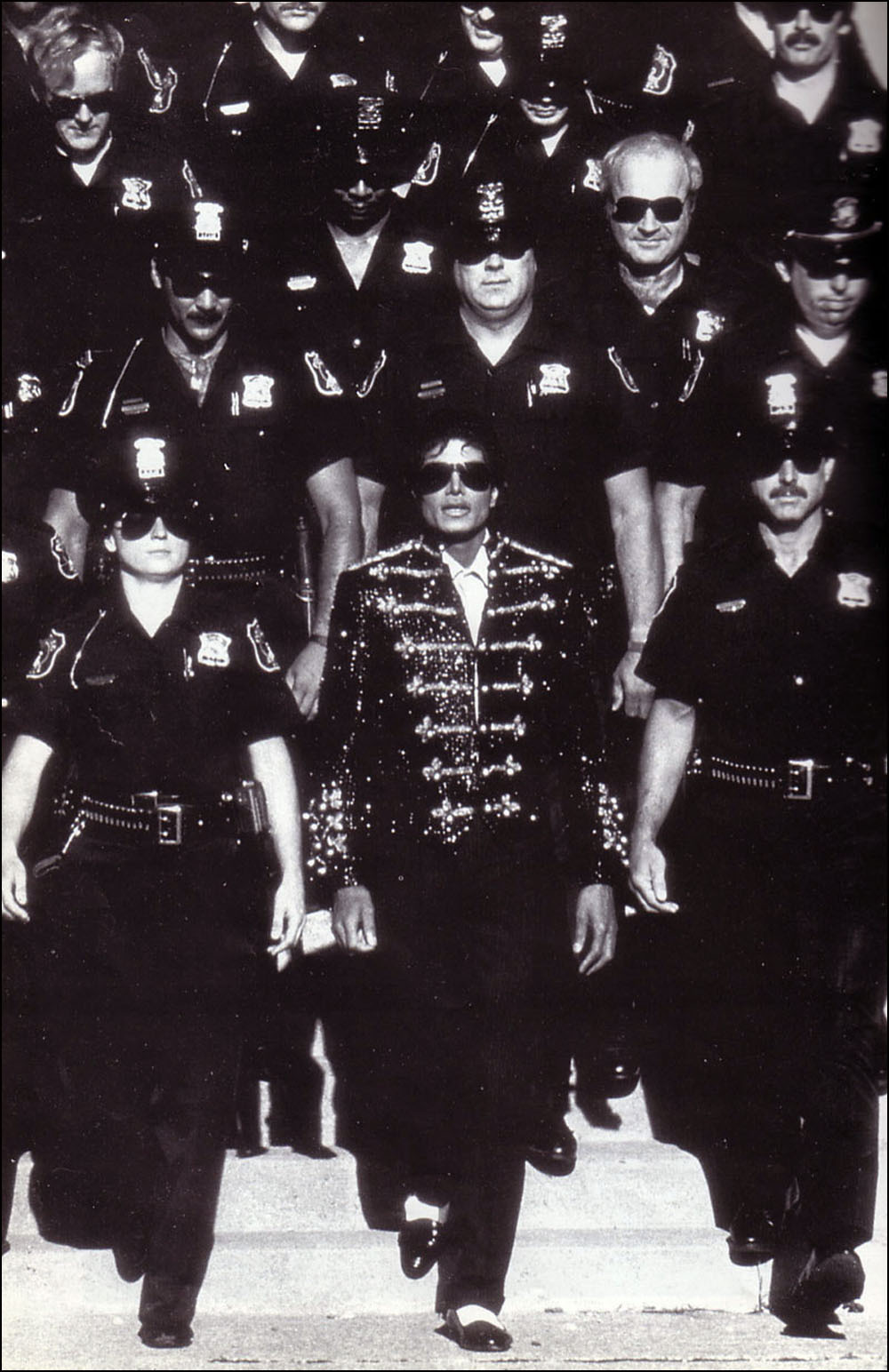 MJ And The Detroit Police 1984