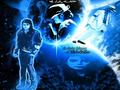 MJ In Da Blue Cosmos