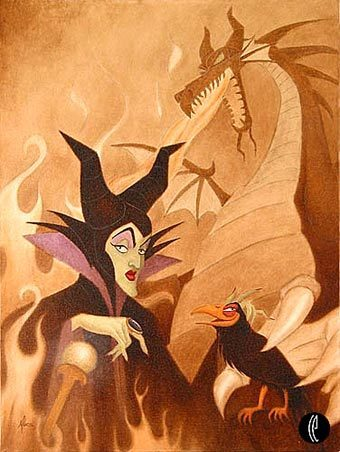 disney fondo de pantalla containing anime titled Maleficent