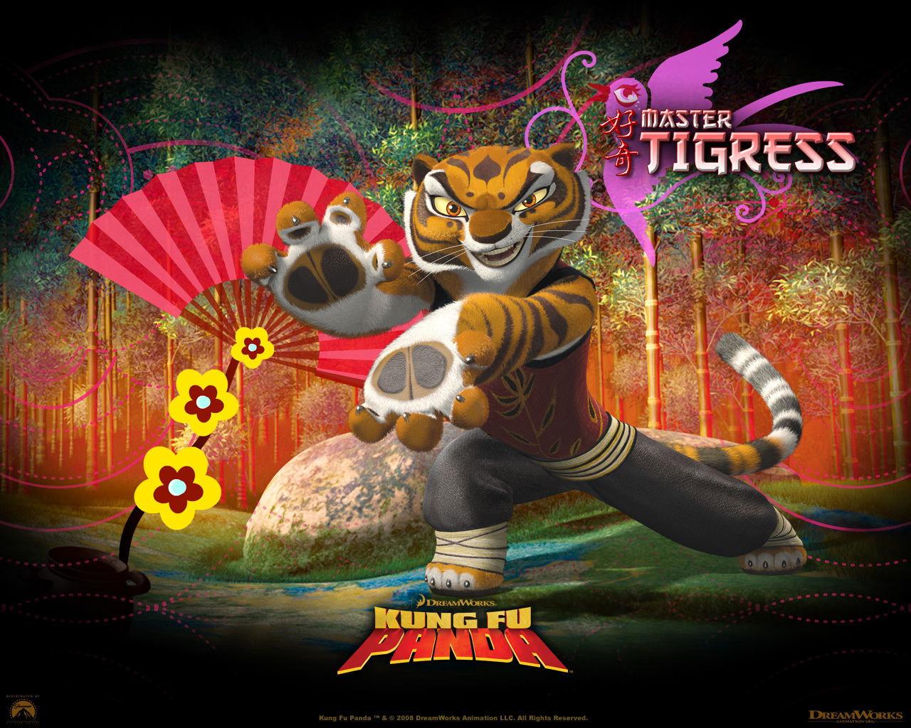 Master Tigress - Tigress Wallpaper (7972270) - Fanpop
