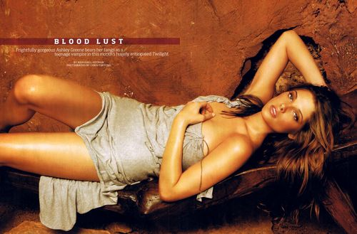 Ashley Greene wallpaper containing attractiveness entitled Maxim (Dec 08)