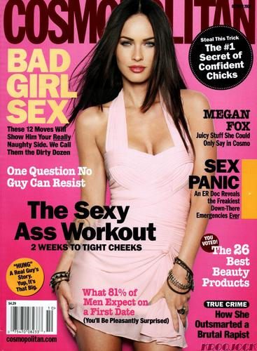 Megan Fox Cosmopolitan Scans