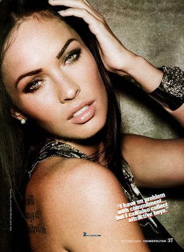 Megan Fox Cosmopolitan Scans