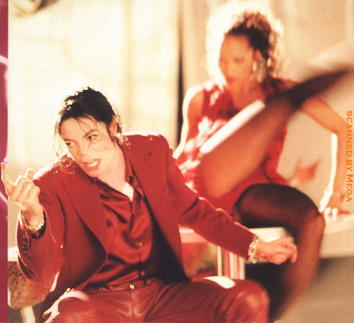 Michael <3 Blood on the Dance Floor