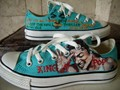 Michael on Convers (hand painted) - michael-jackson photo