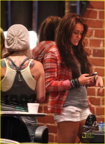 Miley in LA