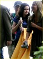 More of Kris on the Eclipse set (graduating scene) - twilight-series photo