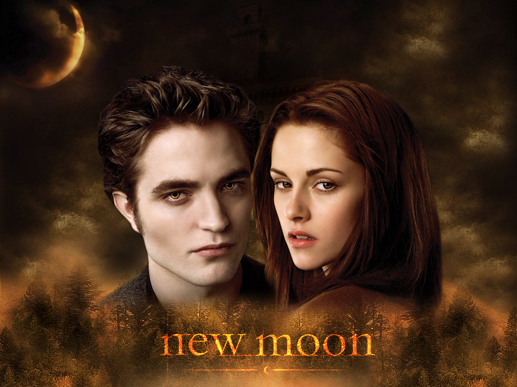 new moon edward and bella twilight series wallpaper