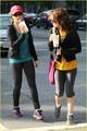 Nikki Reed & Elizabeth Reaser: Protein Shake Pretty - twilight-series photo